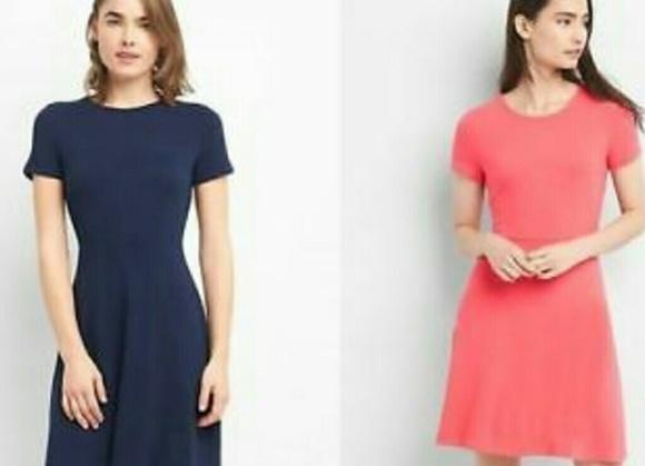 34558b77574e9 GAP Dresses | 2 Soft Spun Fit Flare | Poshmark
